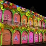 "Video Mapping ""Celebremos Campeche"""